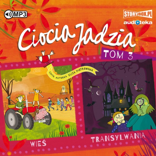 CD MP3 Wieś. Transylwania. Ciocia Jadzia. Tom 3